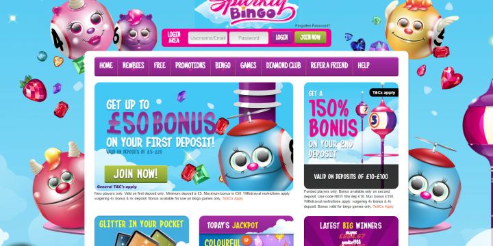 Sparkly Bingo Site